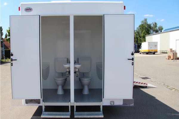 Behindertengerechter Toilettencontainer/Personaltoilette