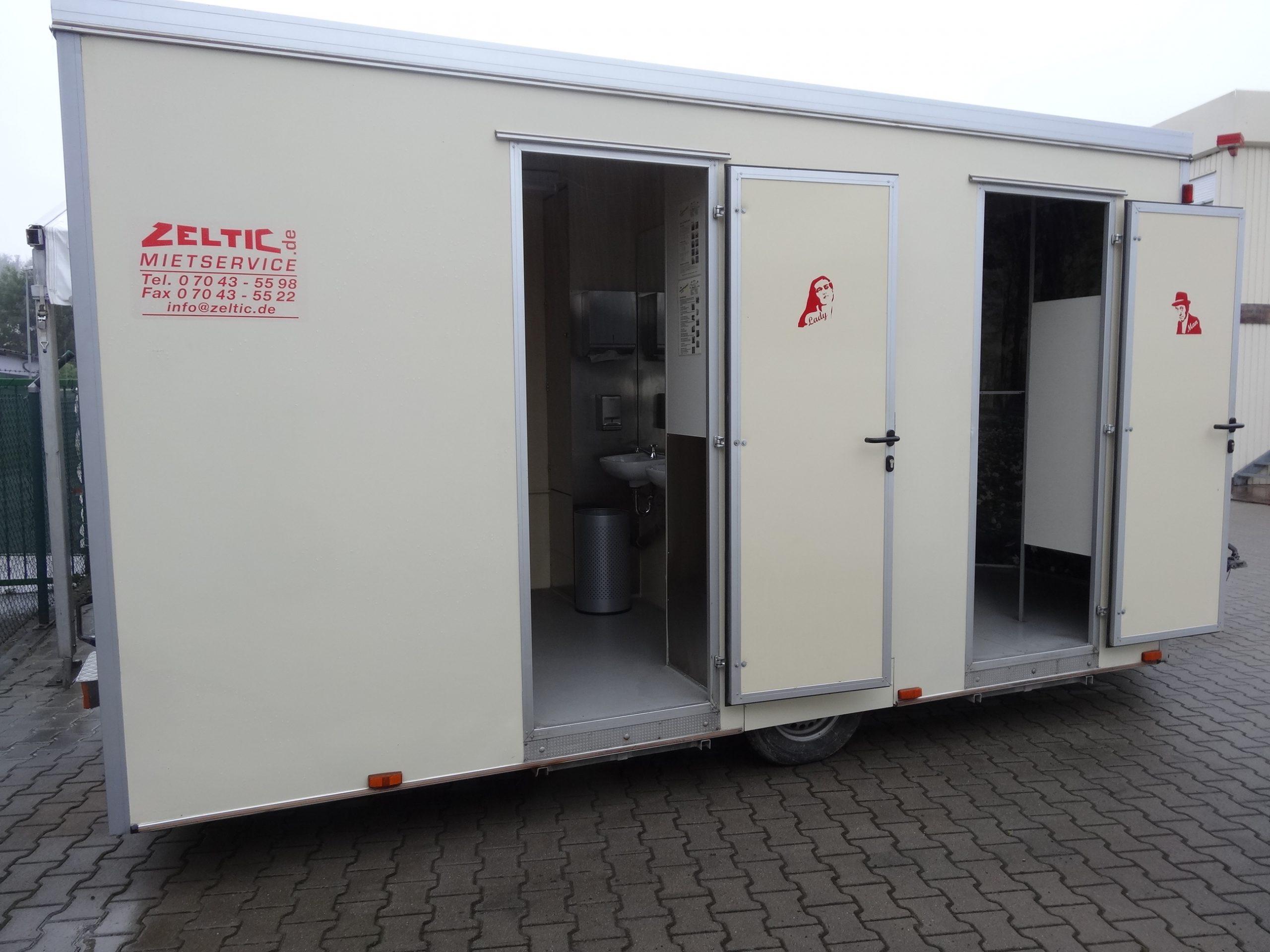 Toilettenwagen (absenkbar)