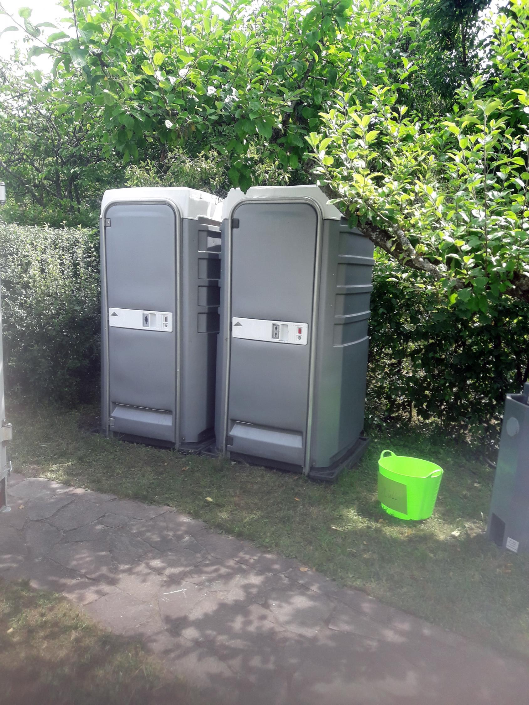VIP-Toilettenkabinen