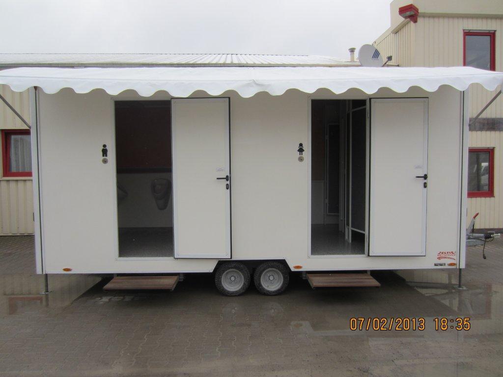 VIP-Toilettenwagen EXCLUSIV