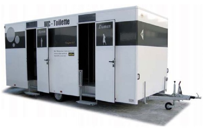 VIP-Toilettenwagen Komfort