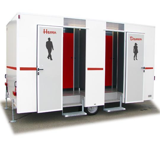 VIP-Toilettenwagen